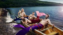 This Dudeoir Calendar Of Bearded Mermen Is So Flippin'