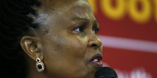Public Protector Adv. Busisiwe Mkhwebane.