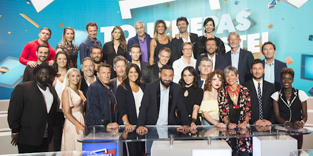 La photo de famille de TPMP en septembre 2017