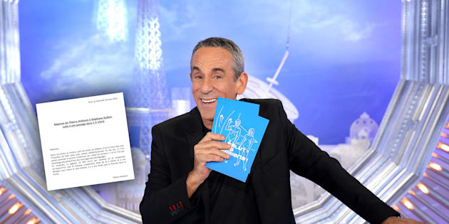 Thierry Ardisson remet Stéphane Guillon à sa place