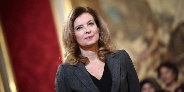 Valerie Trierweiler a félicité François Hollande après son discours sur les Tsiganes.