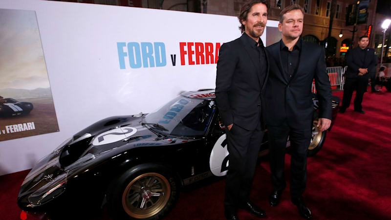 Damon and Bale call 'Ford v Ferrari' a story of friendship 'told at 230 mph'