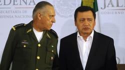 Cienfuegos arremete contra corruptos; Osorio culpa a estados de repunte de