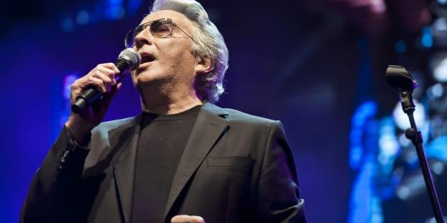 21/04/2013 Roma, concerto in onore di Franco Califano. Nella foto Lando Fiorini
