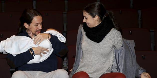 Pablo Iglesias e Irene Montero en una imágen de archivo (2015).