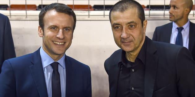 Emmanuel Macron a assisté à un match de rugby avec Mourad Boudjellal.