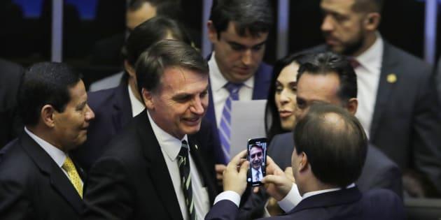 Bolsonaro se reúne esta semana com as bancadas do MDB, PSDB, PR e PRB.