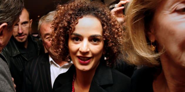 Leila Slimani, lauréate du prix Goncourt 2016, à Paris.  REUTERS/Jacky Naegelen