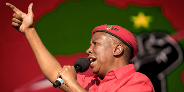 EFF leader Julius Malema is on the main verses and Dr Mbuyiseni Ndlozi on the chorus.