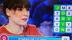 El enfado de Belén Cuesta con Christian Gálvez por lo que ha pasado en 'Pasapalabra':