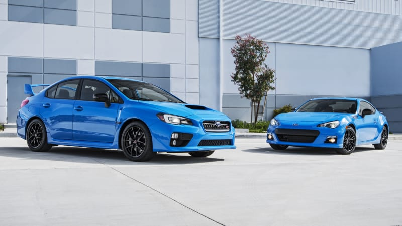 2016 Subaru Brz And Sti Get Hyper Blue For New Limited Special