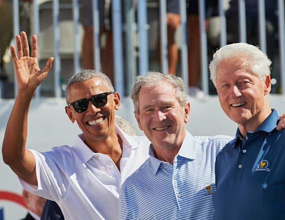 15 photos of former presidents hanging out together