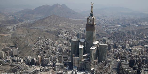 Arabie saoudite: un Français se suicide en se jetant du haut de la Grande Mosquée à La Mecque
