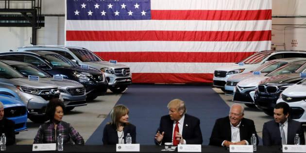Malgré les promesses de Trump, l'emploi dans l'industrie automobile américaine continue de baisser
