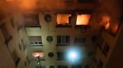La suspecte de l'incendie à Paris placée en détention