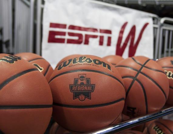 ESPN leaks women's NCAA tournament bracket early