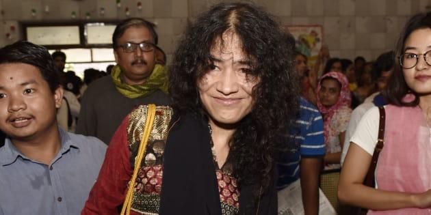 Manipuri human rights activist Irom Sharmila.