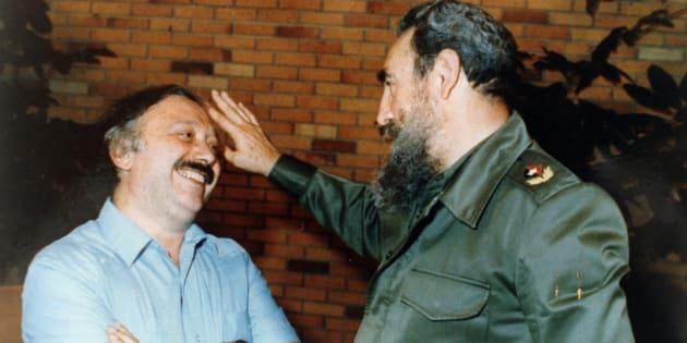 Fidel Castro e Gianni Minà