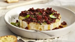Pastry-Wrapped Baked Brie With Maple Bacon And