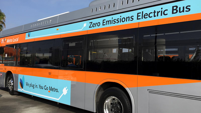 California pushes for 100 percent zero-emission buses by 2040
