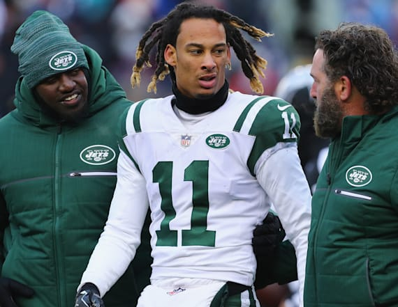 New York Jets WR arrested on nine charges in Florida