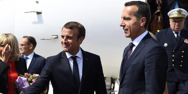 Emmanuel Macron fait sa rentrée en Autriche.