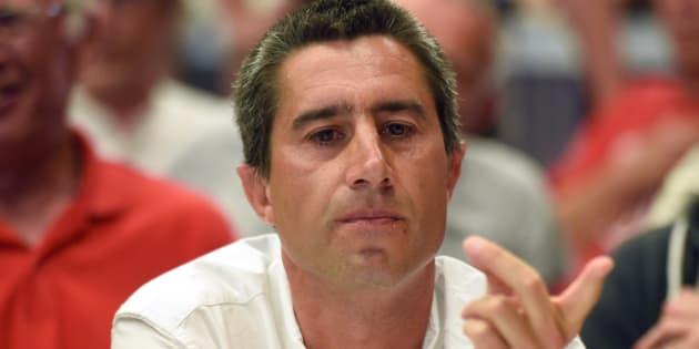 François Ruffin à Flixecourt lors du second tour des élections législatives le 18 juin.