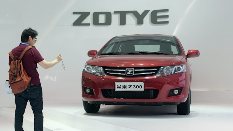Ford, China's Zotye Auto plan joint venture to build EVs