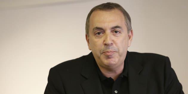 Jean-Marc Morandini lors de sa conférence de presse le 19 juillet 2016 à Paris.