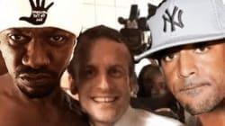 Booba parodie le selfie de Macron à