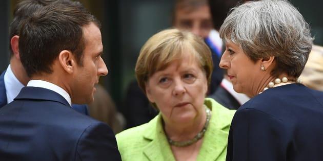 Un an après le Brexit, les 4 pistes du couple Macron-Merkel pour relancer l'Europe