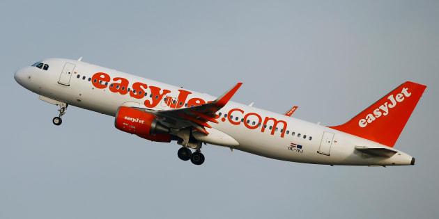 Un avión de Easyjet , despegando del aeropuerto de Zurich, en una imagen de archivo.