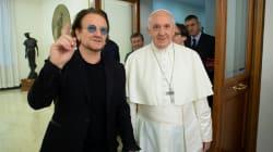 Bono se anduvo sin rodeos con el papa sobre los abusos sexuales en la