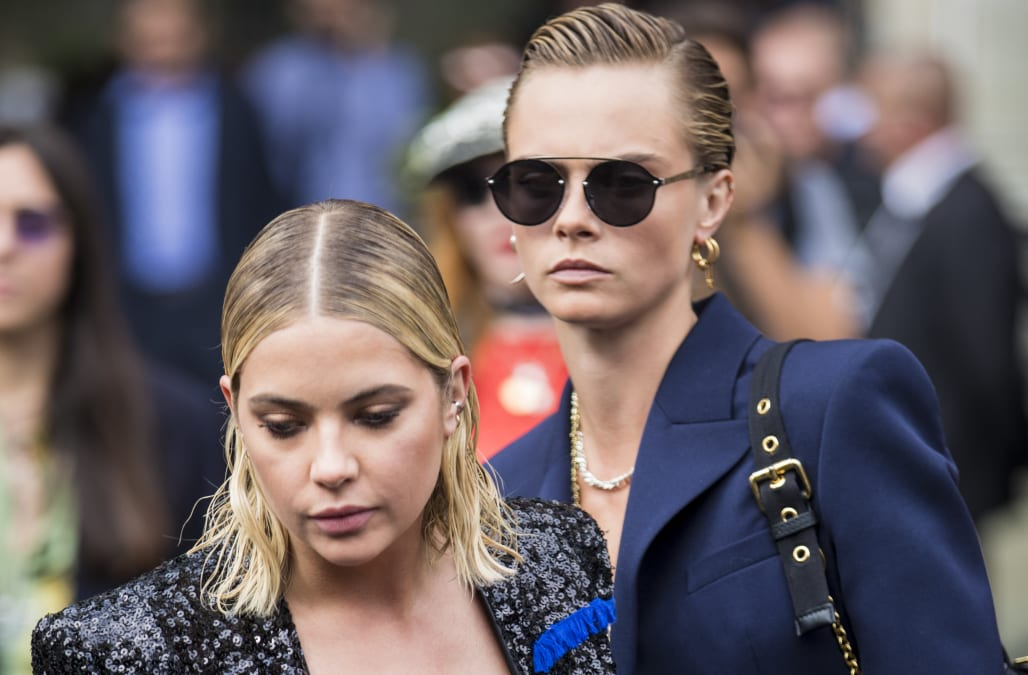 New Roomies! Ashley Benson moves in with Cara Delevingne 1