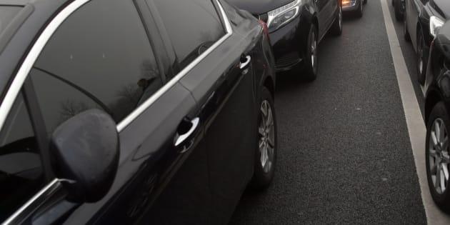À Paris, un couple d'hommes frappé par leur chauffeur VTC. Photo d'illustration.