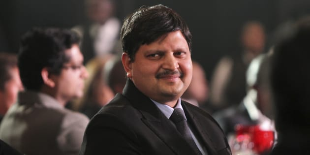 Business mogul and close friend of President Jacob Zuma, Atul Gupta. The Gupta family is at the centre of state capture allegations.