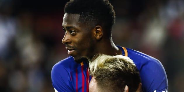 Avec le Barça, Ousmane Dembélé inscrit un but sublime, à la Messi.