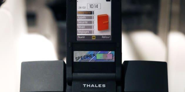 Le téléphone ultra-sécurisé de Thales a été baptisé Teorem.