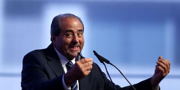Antonio Di Pietro candidato alla presidenza della Regione Molise per il centrosinistra