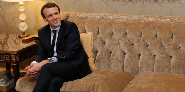 Emmanuel Macron à Paris le 3 mars 2017.