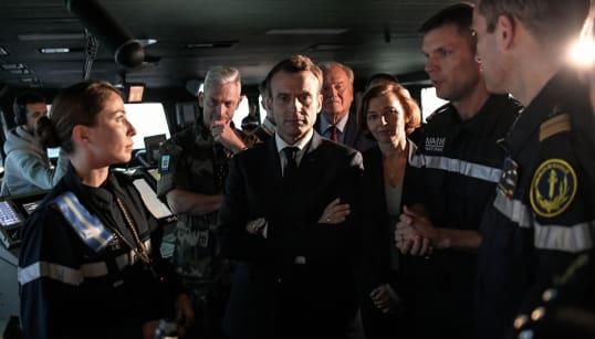 Retrouvez les principales déclarations de Macron sur le Charles de
