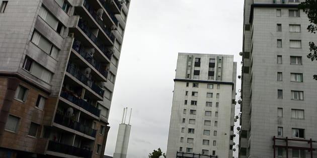 La cité des Mureaux.
