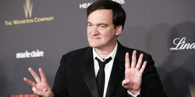 Director Quentin Tarantino arrives at The Weinstein Company & Netflix Golden Globe After Party in Beverly Hills, California January 10, 2016.  REUTERS/Danny Moloshok