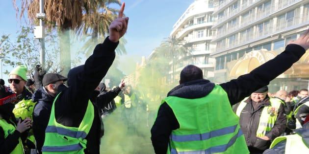 La manif des gilets jaunes à Nice, épicentre programmé de l'acte 19, interdite