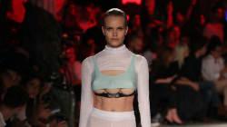Models Wearing 3 Breasts Strut Down The Runway At Milan Fashion