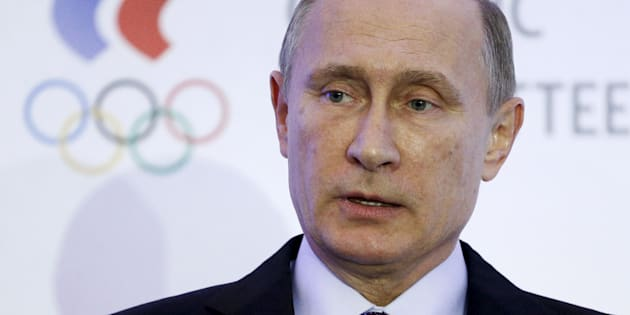 Russie : Poutine reconnaît n'avoir pas pu protéger ses athlètes