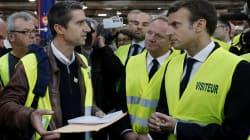 Macron retrouve Ruffin chez Whirlpool pour un troisième