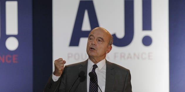 Alain Juppé lors de son meeting à Lyon, le 29 septembre.