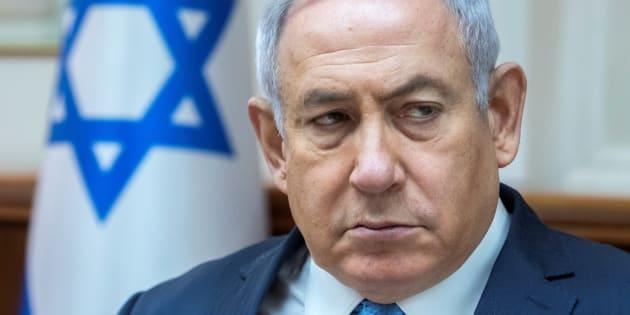 """Pour Netanyahu, l'Iran a franchi une """"ligne rouge"""" en tirant des roquettes vers Israël"""