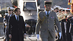 Face aux militaires, Macron fait oublier les brouilles budgétaires en sortant le